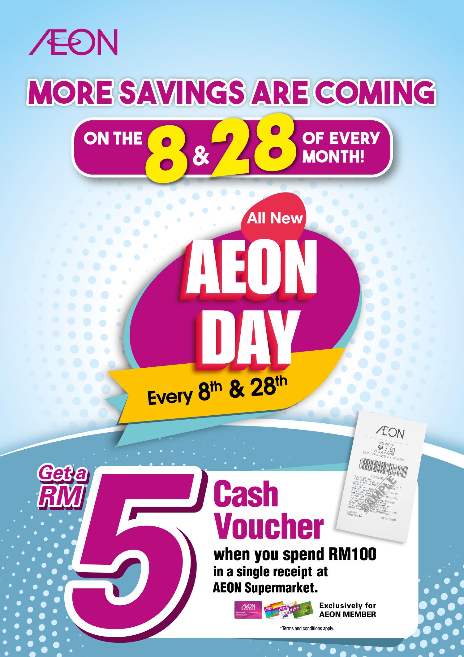 Aeon Co M Bhd Promotions Events Voucher Aon