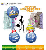 Apply For AEON Credit Today